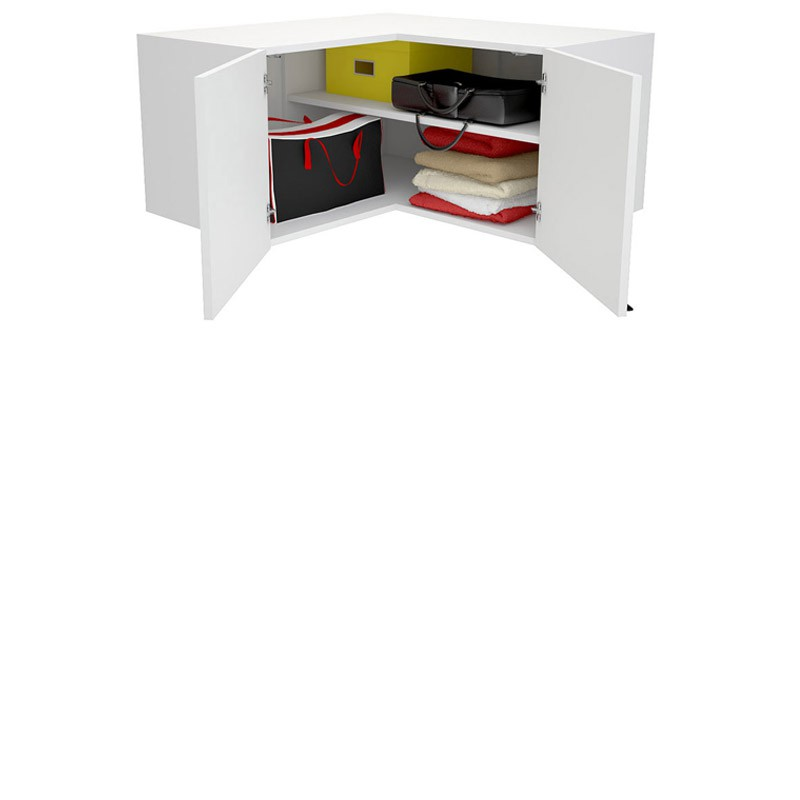 Young Users corner wardrobe top unit