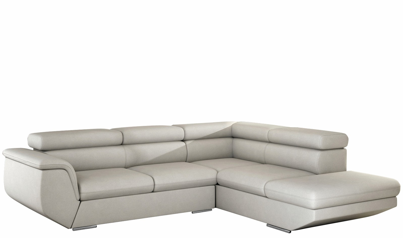 Corner Sofa Beds With Sleeping Function And A Container For