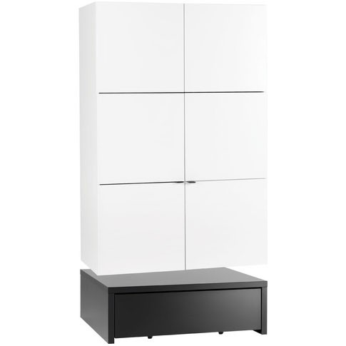 Young Users 2 door wardrobe with 106x95 base unit and a drawer