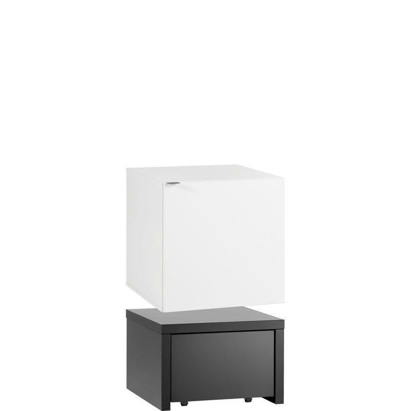 Young Users cube cabinet with drawers with 53x53 base unit and a drawer