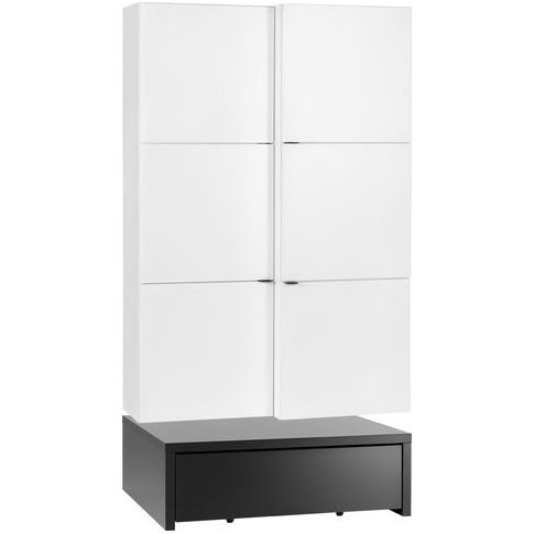 Young Users shelf unit with door and a 106x95 base unit and a table