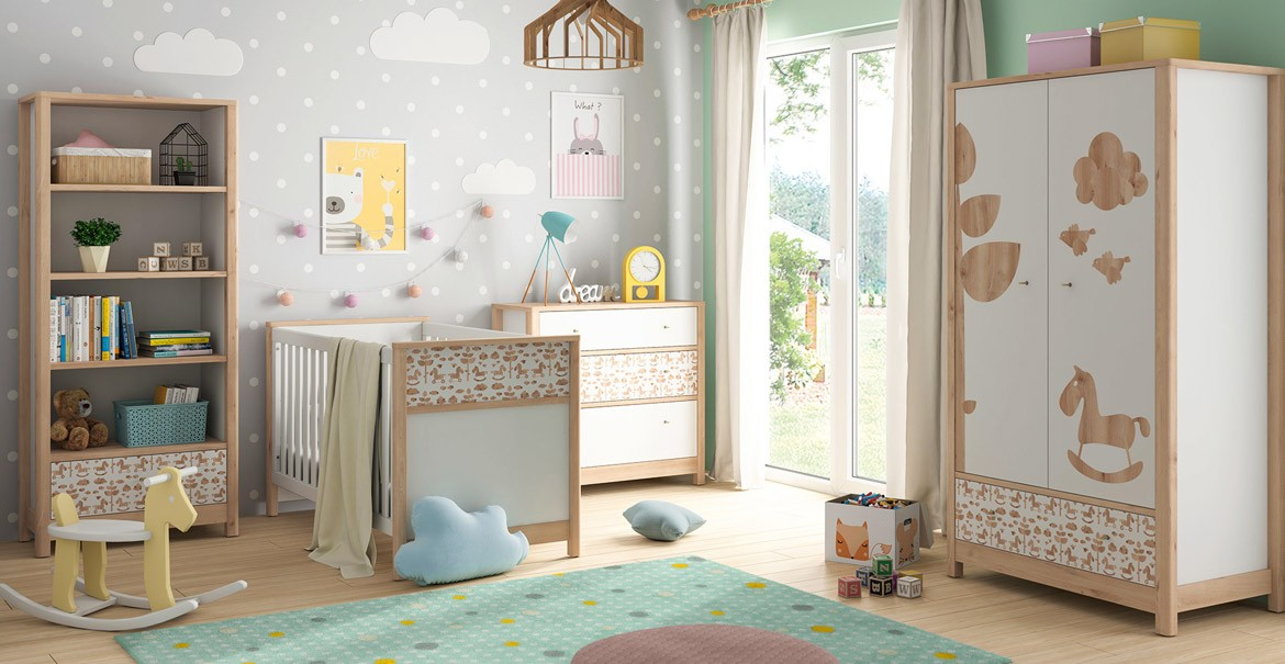 Timon-child furniture with a horse motif from BRW