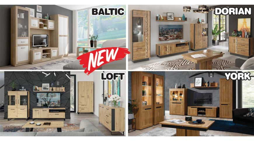 Autumn new models in the Euro Furniture offer
